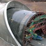 Tunnels concreting equipment